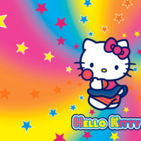 Hello Kitty Rainbow Star Burst