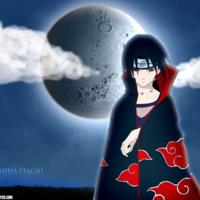 Uchiha Itachi Blue Moon