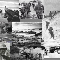 World War II Army Collage