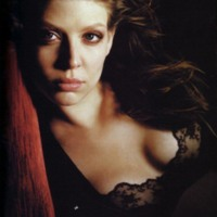 Amber Benson in Black