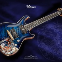 Awsome Blue Electric Guitar!