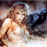 Dark Raven Woman