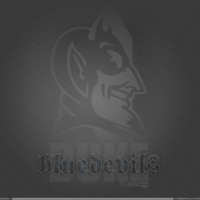 Duke Blue Devils Logo in Grey