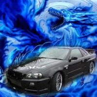 Black Dragon Car