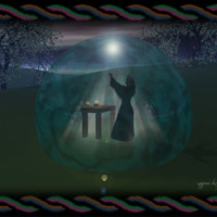 Wiccan Ceremony Circle