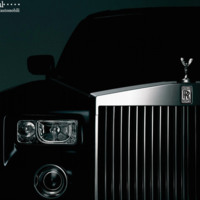 Black Rolls Royce Phantom
