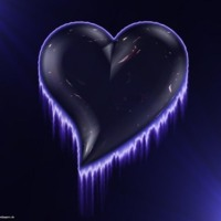 Blue Ice Heart