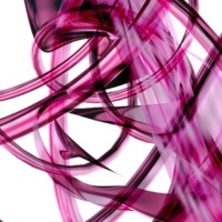 Fuschia LIght Abstract