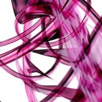 Fuschia LIght Abstract