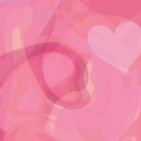 Pink Hearts & Swirls