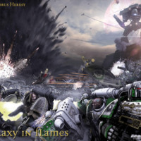 The Horus Heresy: Glaxay in Flames