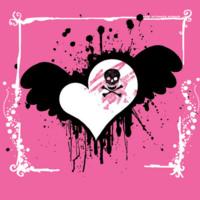 Skulls & Heart Girlie