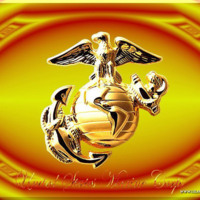 Marines Corp Gold Crest