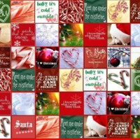 Christmas Icons Collage
