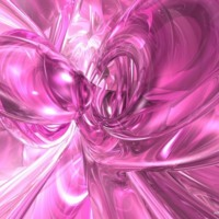 Pink Glass Abstract