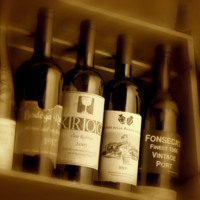Wine in Sepia