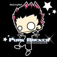 Punk Rocker Cartoon