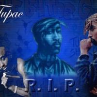 Tupac R.I.P. Blue