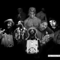 Tupac, Xhibit & Snoop Dogg Collage