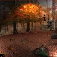 Halloween Graphics Scene