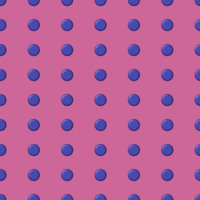 Blue Spots on Pink