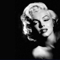 Black & White Marilyn Monroe