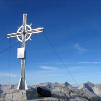 Mountain top cross