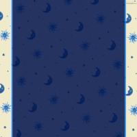 Blue Stars, Moons & Suns