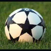 Soccerball in Grass