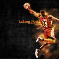 Lebron James Keepin the Flame