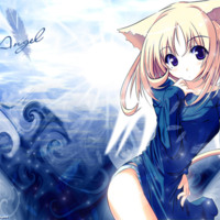 Catgirl Blue Angel