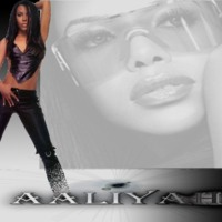 Aaliyah in Black
