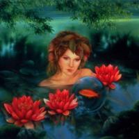 Lake Fairy & Lotus Flowers