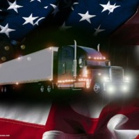 Trucking Freedom Flag