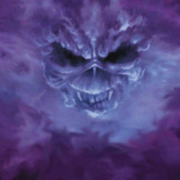 Purple Smoke Skull