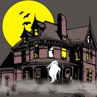Halloween Haunted Ghost House