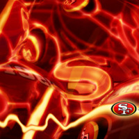 San Francisco 49ers Logo Abstract