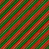 Green & Red Striped Christmas Paper