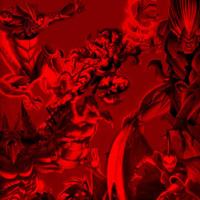 Dark Red Demons