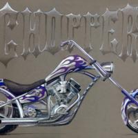 Blu chopper