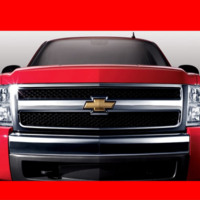Red Big Chevy Truck
