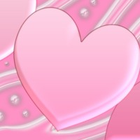 Large Pink Hearts