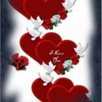 Doves, Hearts & Roses