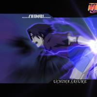 Naruto Chidori... Uchiha Sasuke
