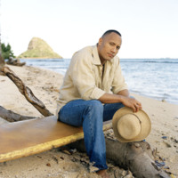 Dwayne Johnson on Beach