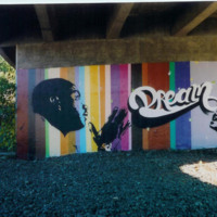 Martin luther King - Dream Graffiti