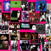 Emo Music Collage