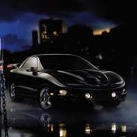 Black Firebird Sportscar