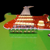Green Apple Electric Guitar