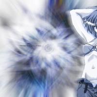 Hot Anime Girl in Grey